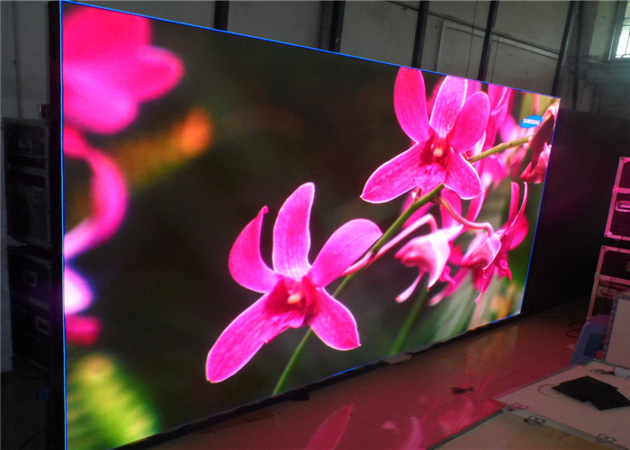 Vivid Image P10 Indoor Led Display , Multi Functional Led Hd Screen SMD3528