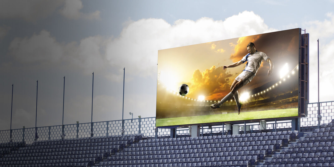 Stadium LED Display P10 Led Screen AVOE LED Stadium Display