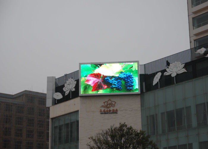 SMD3535 P8 Outdoor Led Display Screens For Business Light And Slim Design 960*960mm Cabinet