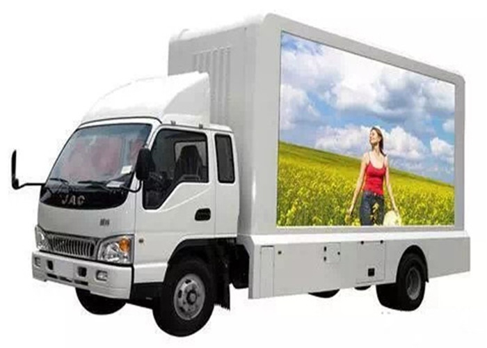Energy Saving  P6.67mm Mobile Truck LED Display Mobile Tv Screen SMD2727